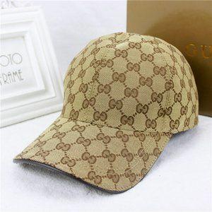 Gucci Baseball Cap Hat Canvas